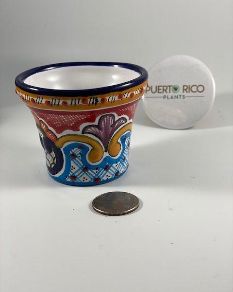 Traditional Talavera Pottery (Mexico) F