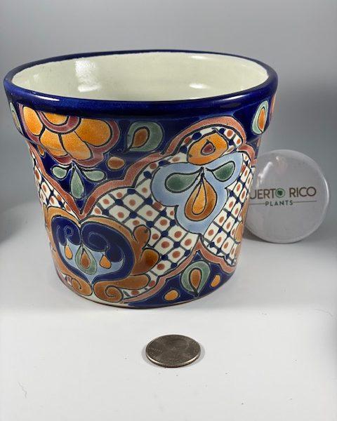 Artist Mendez Torres Talavera Pottery (Mexico) A