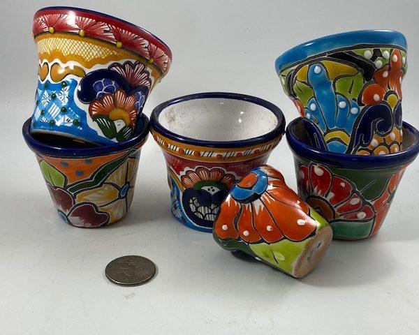Handmade Talavera Pottery (Set of 6)